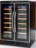 デバイスタイル ツインルームワインセラー CD-40  40本収納タイプ