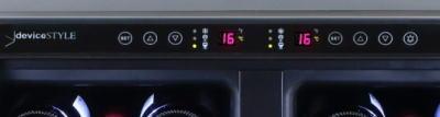 デジタル温度設定