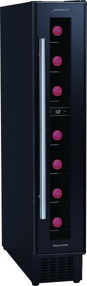 デバイスタイル 7本用スリムタワー型ワインセラー CD-7X