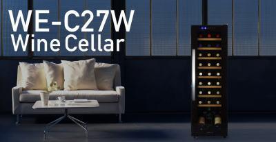 デバイスタイル 27本用ワインセラー WE-C27W